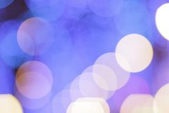 Abstract bokeh city light background. Bokeh background Royalty Free Stock Photos