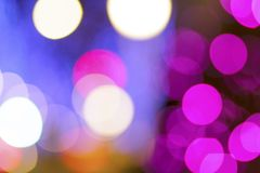 Abstract bokeh city light background. Bokeh background Royalty Free Stock Photography