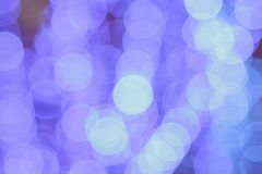 Abstract bokeh city light background. Bokeh background Stock Photography
