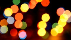 Abstract bokeh stock video