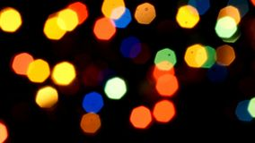 Abstract bokeh stock video footage