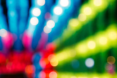 Abstract bokeh colorful lights defocused background Royalty Free Stock Photo