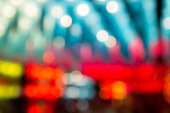 Abstract bokeh colorful lights defocused background Royalty Free Stock Photography
