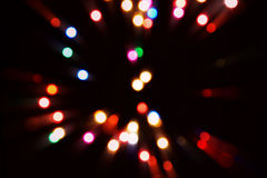 Abstract  bokeh colourful  light Royalty Free Stock Photo