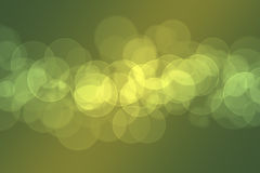 Abstract bokeh design on a black background Royalty Free Stock Photos
