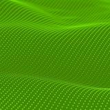 Abstract bokeh dots waves. Green background Stock Photos