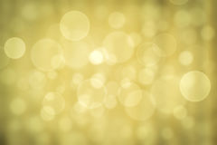 Abstract of bokeh effect on background Royalty Free Stock Photos