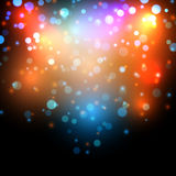 Abstract bokeh effect background Stock Photos