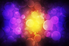 Abstract bokeh effect Royalty Free Stock Images