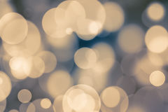 Abstract bokeh festive background with defocused lights.  Stock Photos