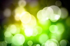 Abstract bokeh festive background with defocused lights.  Royalty Free Stock Images