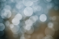 Abstract bokeh festive background with defocused lights.  Royalty Free Stock Photography