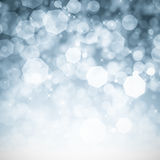 Abstract bokeh glitter background. Abstract blue bokeh glitter background Royalty Free Stock Image