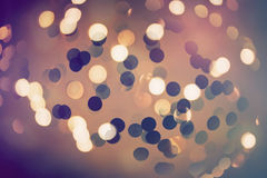 Abstract bokeh glittering light effects. Background Royalty Free Stock Photo