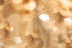 Abstract bokeh golden background  texture royalty free stock image