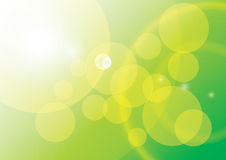 Abstract Bokeh. Green Abstract Bokeh ,Background concept Royalty Free Stock Image