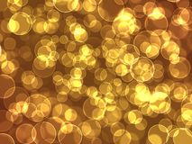 Abstract bokeh holiday lights  background Stock Photography