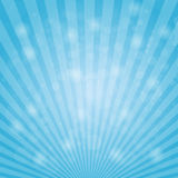 Abstract bokeh on light blue background. Stock vector Stock Image