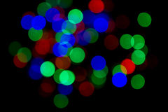 Abstract with bokeh. Light blur Royalty Free Stock Photos