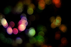 Abstract bokeh lights Royalty Free Stock Image