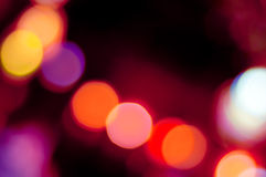 Abstract bokeh lights background Royalty Free Stock Images
