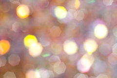 Abstract bokeh lights background Royalty Free Stock Photo