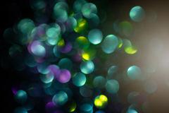 Abstract bokeh lights for background Royalty Free Stock Photos