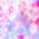 Abstract Bokeh lights background royalty free illustration