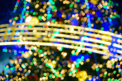 Abstract bokeh lights Stock Images