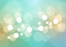 Abstract Bokeh Lights Background Stock Image