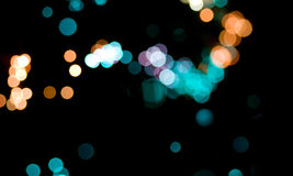 Abstract bokeh lights Royalty Free Stock Photo
