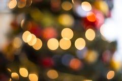 Abstract bokeh lights. Stock Image