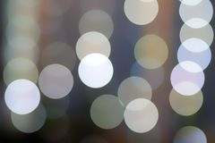 bokeh lights with soft light background stock image