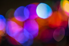 Abstract bokeh multicolor Stock Photography