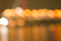 Abstract bokeh night  in city Royalty Free Stock Photography