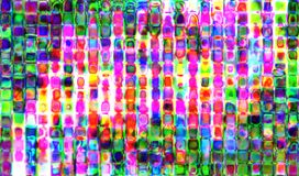 Abstract bokeh overlay background image. Digitally generated image stock illustration
