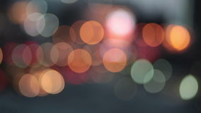 Abstract bokeh particles light floating for festival theme background stock video footage