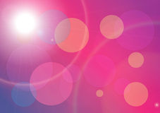 Abstract Bokeh. Pink Abstract Bokeh ,Beautiful Background Royalty Free Stock Photography