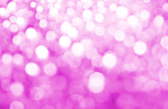 Abstract bokeh. Radiant Orchid is the color of the Year 2014 Stock Images