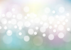 Abstract bokeh on soft color background vector. Abstract bokeh on soft color background vector illustration Stock Photography