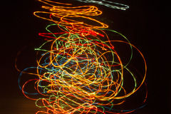 Abstract bokeh spark Royalty Free Stock Photography