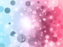 Abstract bokeh vector background. Stock Photography