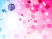 Abstract bokeh vector background. stock illustration