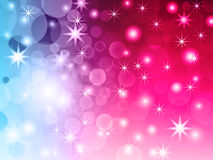 Abstract bokeh vector background. Stock Images