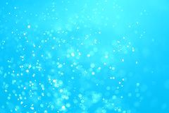 Abstract bokeh water drops background Royalty Free Stock Images