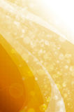 Abstract bokeh on yellow background. Abstract yellow and white background stock illustration