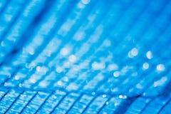 Abstract bokehblauw voor achtergrond Royalty-vrije Stock Foto
