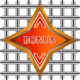 Abstract bonus icon Stock Photo
