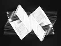 Abstract book Stock Photo