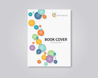 Abstract  book  and brochure cover  template design.editable Royalty Free Stock Photo